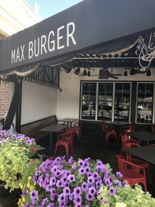 Max Burger Patio