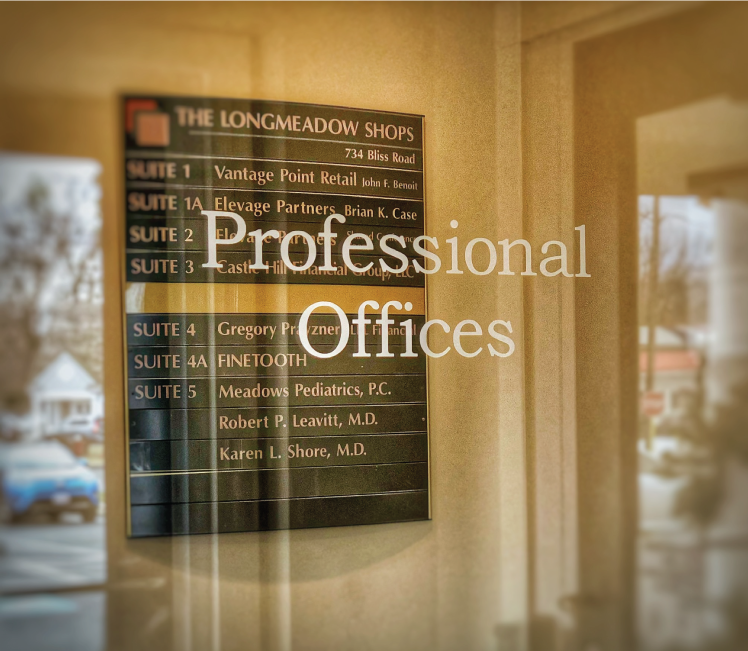 View of the Professional Offices at The Longmeadow Shops