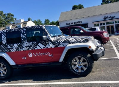 Lululemon Jeep