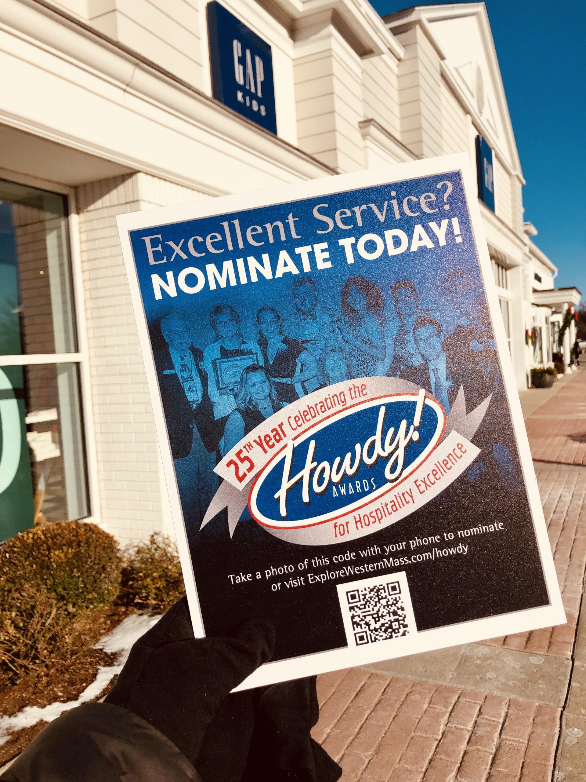 Howdy Award Poster