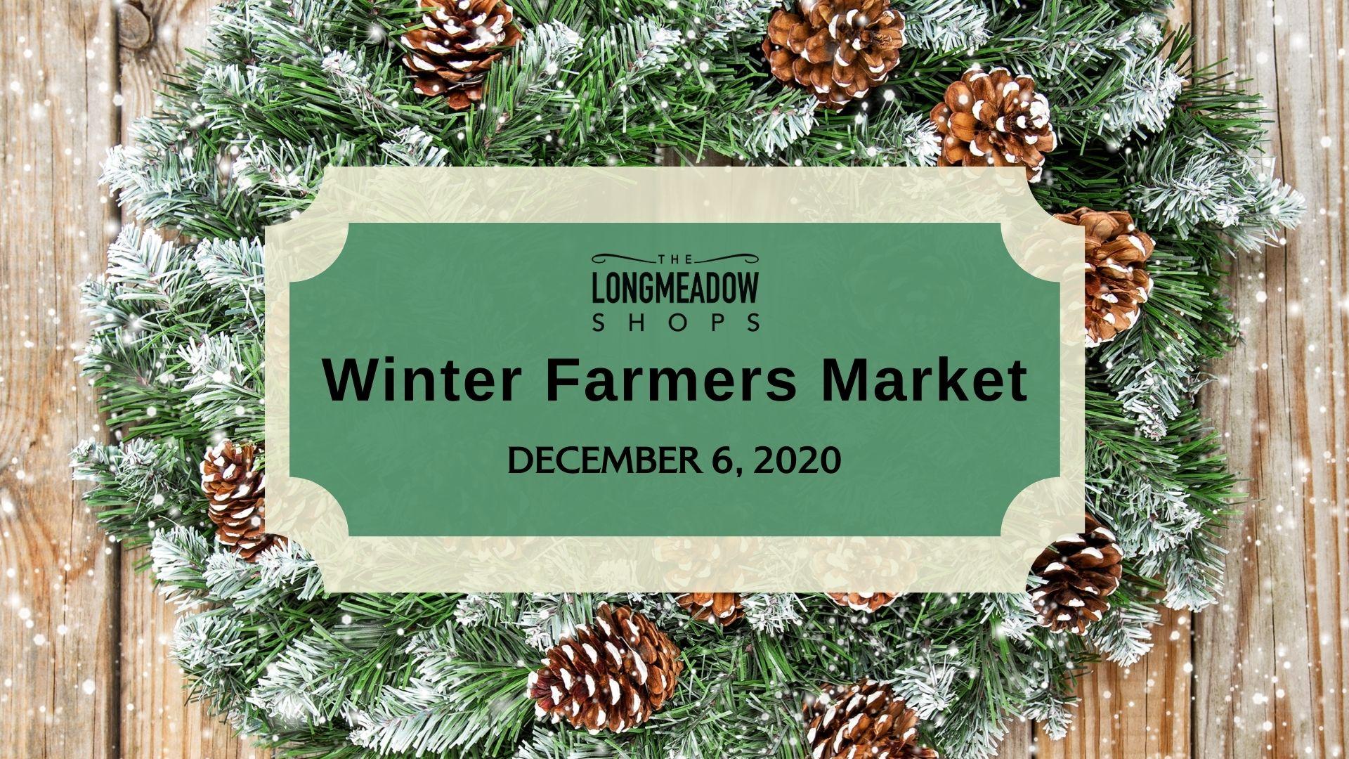 Winter Farmers Market Wreath Image