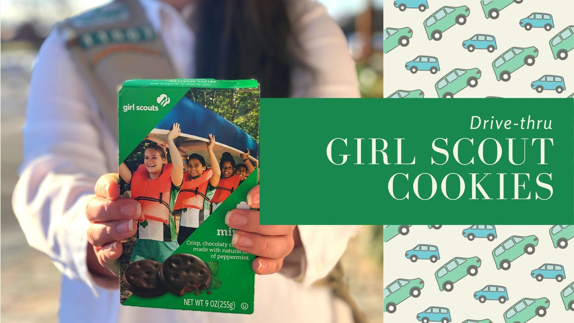 Girl Scout Cookie Drive Thru