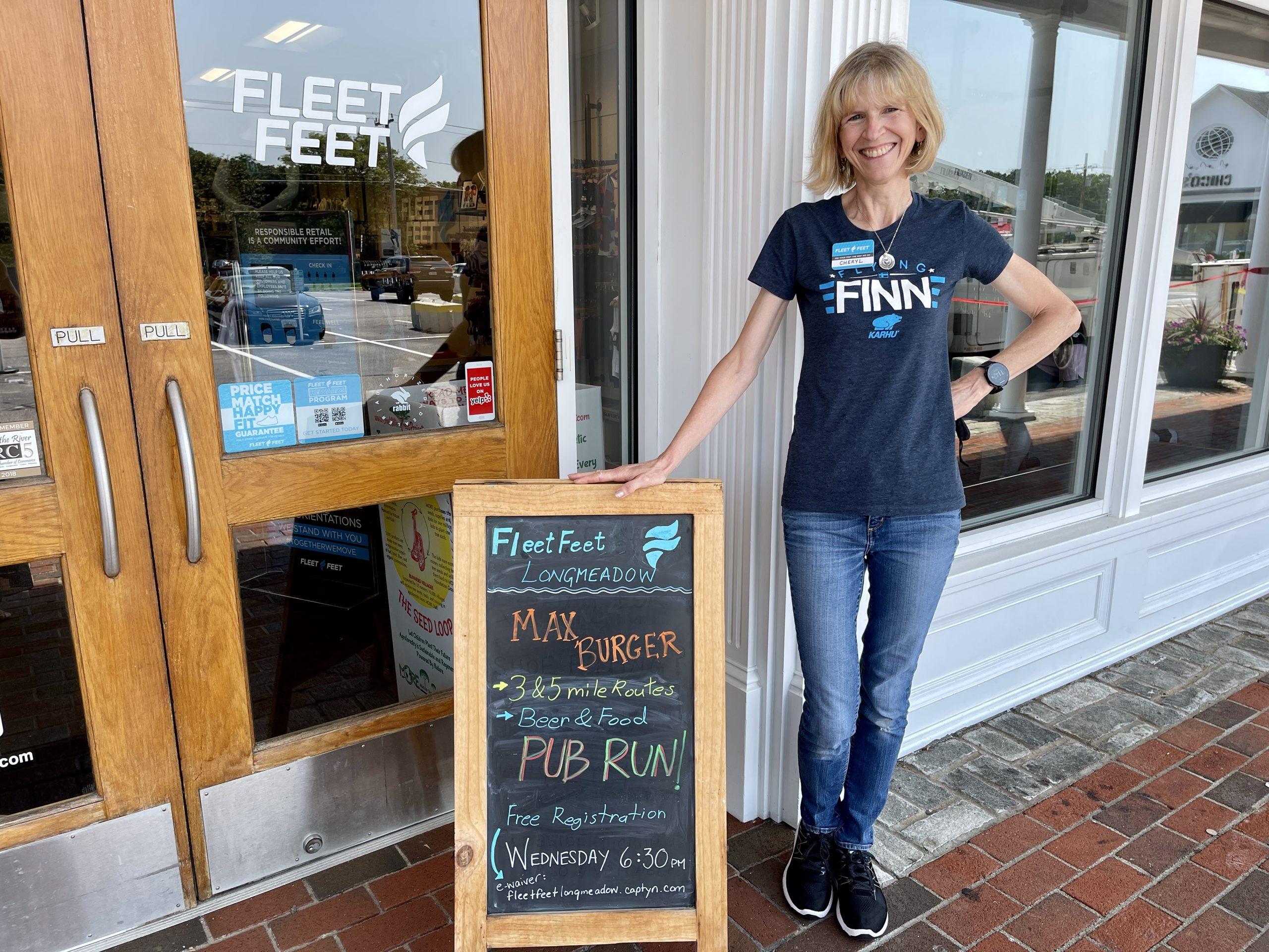 Fleet Feet Max Burger Pub Run