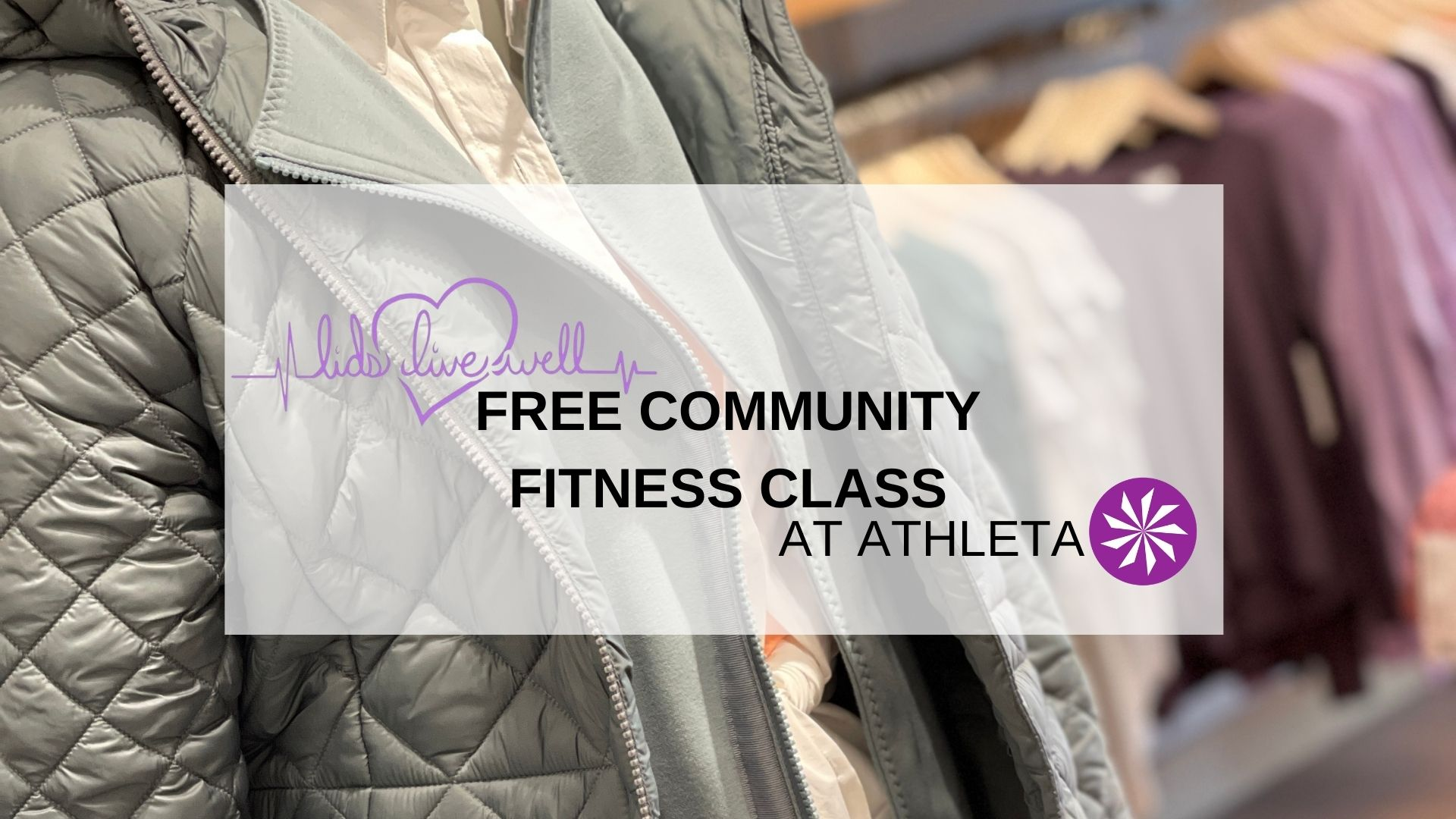 Athleta Community Fitness Class